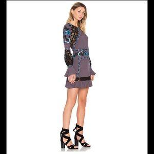 For Love & Lemons Cecelia mini dress XS